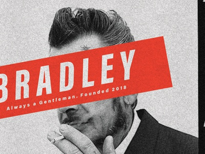 """""""Bradley"""" Ted Poster 03"""