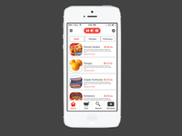 HEB iOS Home redesign