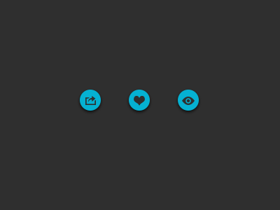 Icon Design for up and coming app icon design app icons application icons blue charcoal black