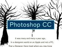 Edgar Allen Poe - Photoshop CC