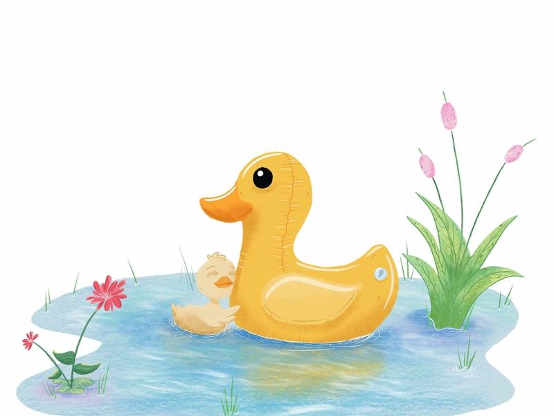 Ducky Love childrens book character art childrensbooks childrensbookillustration children art cartoon character character design illustration cartoon