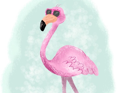 Cool Flamingo