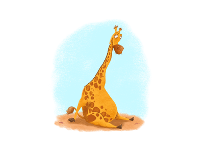 Stretched Too Thin picture book kids books giraffe
