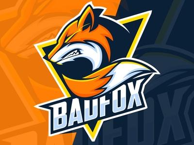 bad fox esport logo design