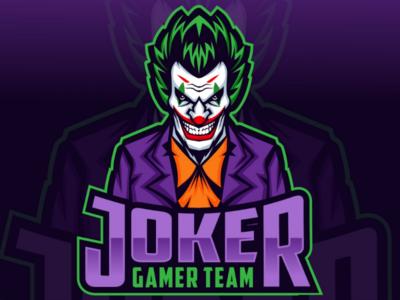 Joker e-sport logo design