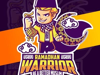 ramadhan warrior, muslim  tshirt design  *old design