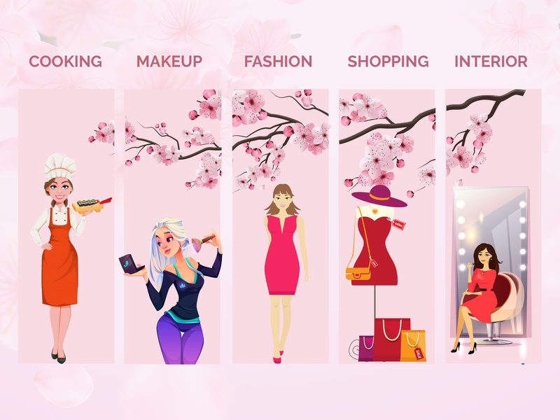 Girls Product Related Banner