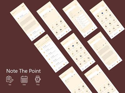 Note Pad App Design notapp app note notepad