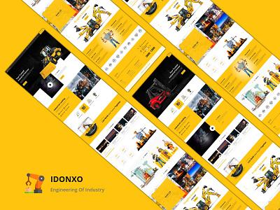 Industry Business Web Design ecommerce machine industrialdesign industry growth industrial