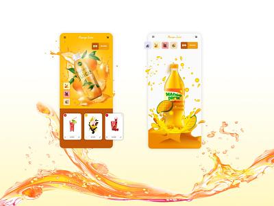 Juice App ecommerce shop ecommerce juicy juice app app drinks fruit juices juice bar juice