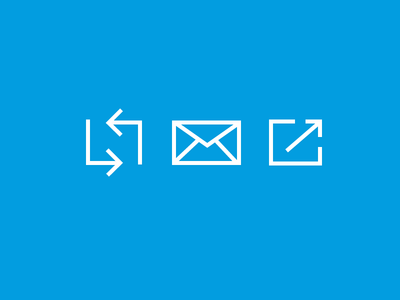 Slab icons  icons minimal line square slab sharp modern share convert email subscribe