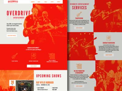 Modern Grunge Web Design