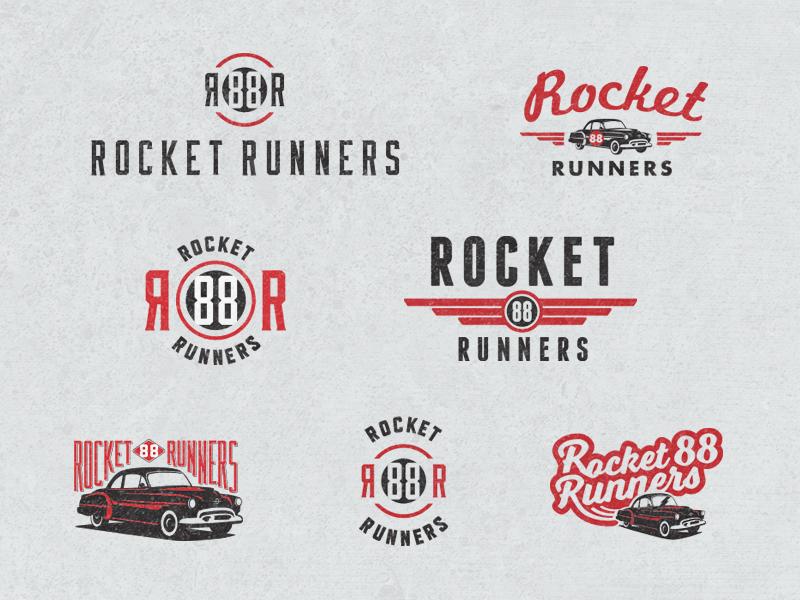 Vintage Car Logos by Mallory Ming - Dribbble