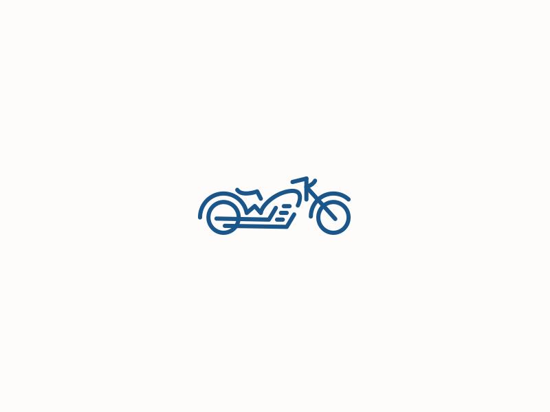 WK Motorcycle Logo wk bike motorcycle logo branding line outline illustration