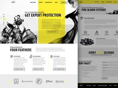 Fire & Security Alarm Website