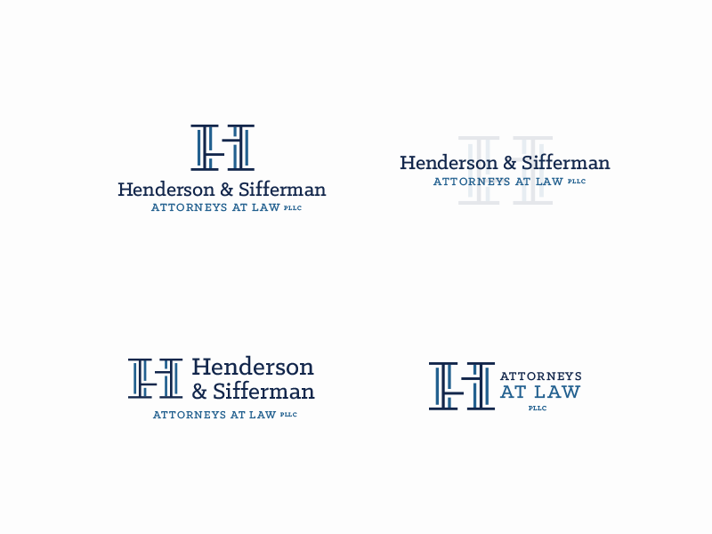 Pillars of Justice mark watermark attorneys pillars lockup s h logo law