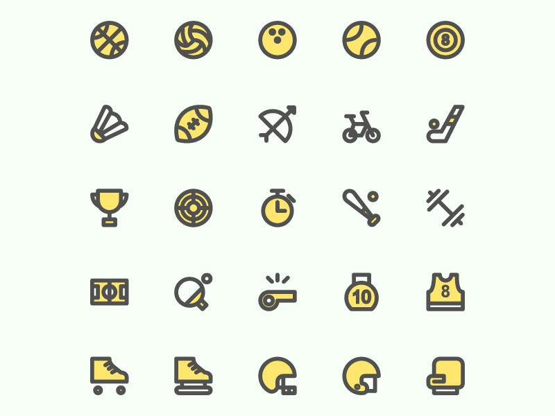 Sport Icon simple app sportivitas website icon