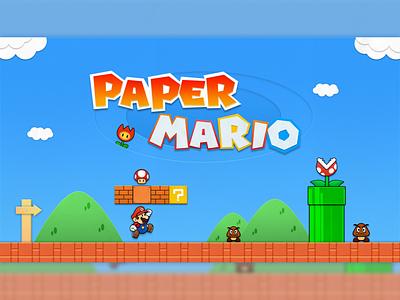 Paper Mario 品牌 ui 插图