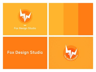 Fox Design Studio typography design 商标 品牌 ux ui