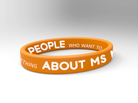 National MS Society Wristband