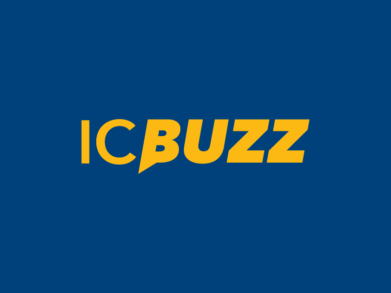 IC Buzz logotype - news, fan engagement, & social media sharing facebook ui web snapchat twitter ig share social wordmark logotype logo social media