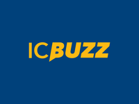 IC Buzz logotype - news, fan engagement, & social media sharing