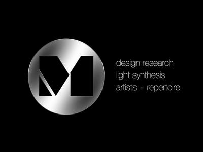 M Concepts visual identity for boutique design firm visual design visual identity music design design research icon design logo design