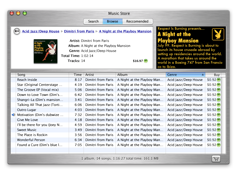Original iTunes Store concept design explorations (circa 2002) interaction design apple itunes store vaulted design concept itunes