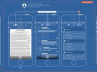 Schematic for 3d web content annotation platform (iOS)