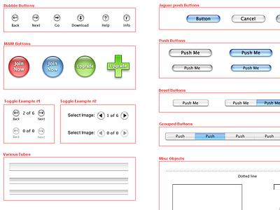 WebAqua and WebMetal Language System for Apple.com (circa 2003) system elements aqua metal webmetal visual language application language building system language system design system webaqua