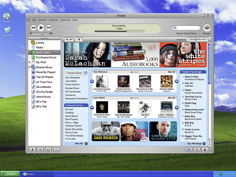 iTunes for Windows hell froze over music music design store itunes apple windows pc