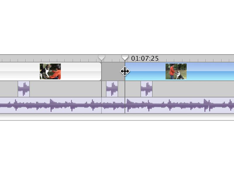 iMovie editing/publishing timeline publishing splitting movie video edit scrub apple ilife video editing video edit editing imovie
