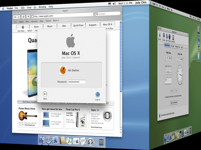 AquaOS / MetalOS / DesktopOS guidelines for Mac OS X Panther