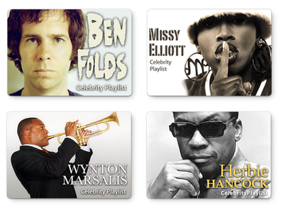 iTunes Celebrity Playlists