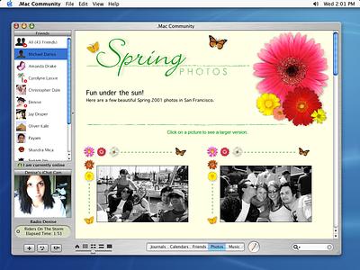 Desktop Community Publishing App concept (vaulted Apple design) mac os x desktop application publishing community vaulted design vaulted concept design concept mobileme icloud .mac dotmac apple