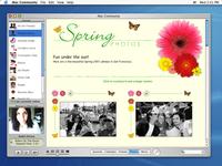 Desktop Community Publishing App concept (vaulted Apple design)