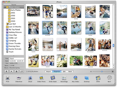 Apple iPhoto Application Design