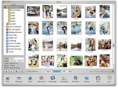 Apple iPhoto Application Design