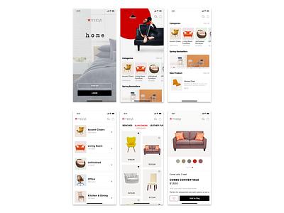 Macy's Home (App) home alone eretail ecommerce furniture home furnishings home app home