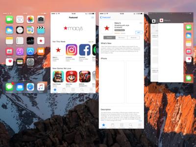 Macy's App icon redesign