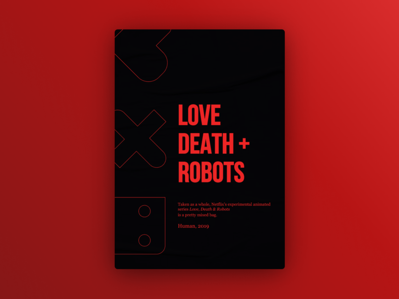 Love, Death and Robots- #FanArt