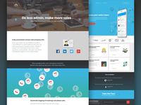 Salesflare - Web design