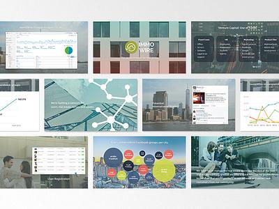 ImmoWire - Investor Deck powerpoint keynote investors deck pitch startup investor deck pitch deck