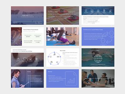 Thrivepass - Sales Deck sales sales deck pitch deck investor deck startup pitch deck investors keynote powerpoint