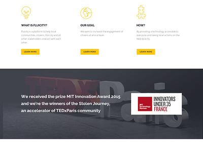 Startup - Landing Page landing page hero startup yellow home design web homepage