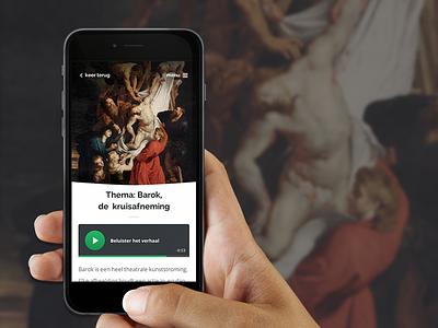 Museum App classical church art tour guide audio app museum