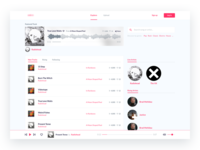 Music community - Homepage