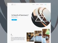 Hide Me – Landing Page Concept
