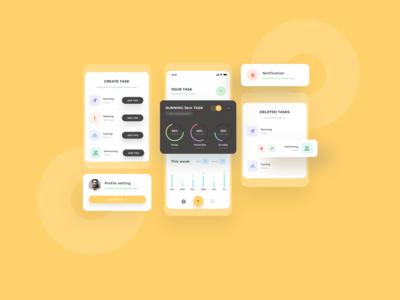 Daily Task app design