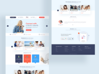 Doctor online service landing page